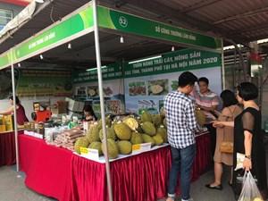 17 tỉnh thành tham gia tuần hàng trái cây, nông sản