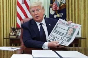 Tổng thống Mỹ tuyên chiến với mạng xã hội?