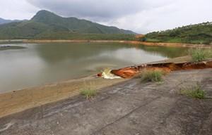 Về vụ vỡ đập Đầm Thìn (Phú Thọ): Vẫn đảm bảo đủ nước tưới