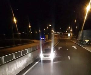 Quảng Nam: Điều tra, xử lý xe ô tô chạy ngược chiều trên cao tốc Đà Nẵng- Quảng Ngãi