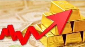 Giá vàng lại vọt tăng
