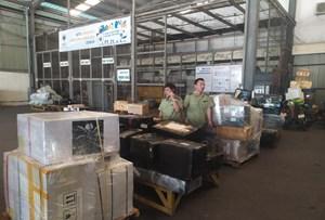 Phát hiện hàng nghìn sản phẩm nhập lậu đường hàng không