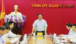 Quảng Ninh xin chủ trương bầu trực tiếp Bí thư Tỉnh ủy tại Đại hội