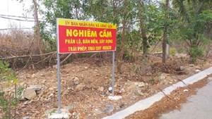 Sốt đất ảo tại khu vực xã đảo Long Sơn (TP Vũng Tàu)