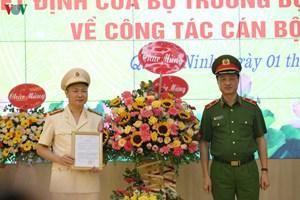 Phó Chánh Văn phòng Cảnh sát điều tra làm Giám đốc Công an tỉnh Quảng Ninh