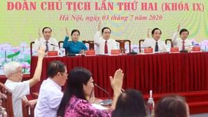 Bế mạc Hội nghị Đoàn Chủ tịch UBTƯ MTTQ Việt Nam