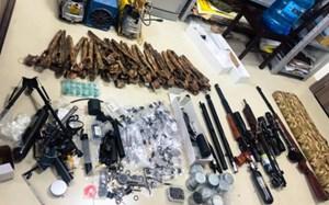 Chế tạo súng, nam thanh niên bị phạt 33 triệu đồng