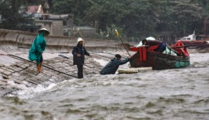 Thanh Hoá: Bão yếu đi nhưng mưa kéo dài có thể gây lũ lụt