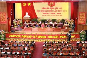 Khai mạc Đại hội đại biểu Đảng bộ tỉnh Đắk Lắk lần thứ XVII