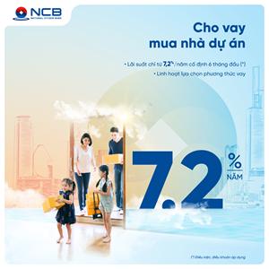 NCB dành 2.000 tỷ đồng cho khách hàng cá nhân mua, sửa chữa nhà
