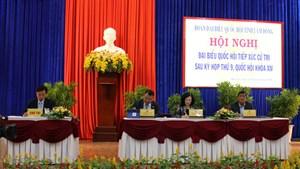 Trưởng ban Dân vận Trung ương tiếp xúc cử tri tại Lâm Đồng