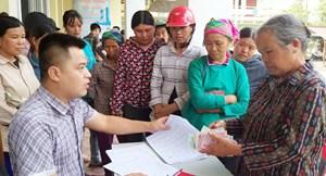 Mường Khương (Lào Cai): Bảo đảm chi trả hiệu quả gói hỗ trợ