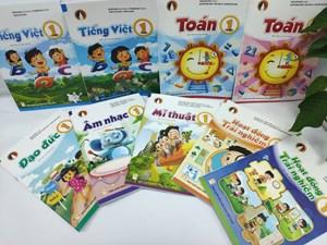 Sách giáo khoa lớp 1: Cung ứng 13 triệu bản tới các địa phương