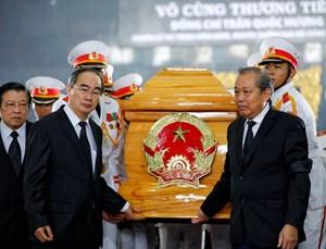 Cử hành trọng thể Lễ truy điệu và an táng ông Trần Quốc Hương