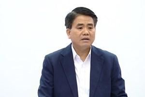 Tạm đình chỉ công tác Chủ tịch Hà Nội Nguyễn Đức Chung