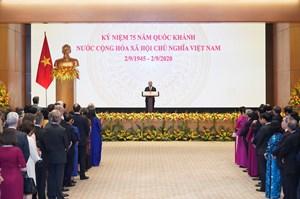 Tương lai của Việt Nam song hành với hoà bình, ổn định, hợp tác và thịnh vượng chung của thế giới