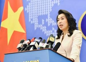 Mọi hoạt động ở Hoàng Sa và Trường Sa không được sự cho phép là vi phạm chủ quyền Việt Nam