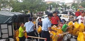 Big C tặng 500 phần quà hỗ trợ khẩn cấp  tại Thừa Thiên Huế