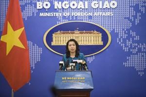 Việt Nam nhất quán phản đối mạnh mẽ cái gọi là TP Tam Sa