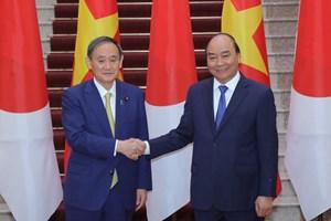 Thủ tướng Nhật Bản: 'ViệtNamlà nơi thích hợp nhất' cho chuyến công du đầu tiên