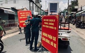 Đồng Nai: Dỡ bỏ cách ly khu dân cư đường Hồ Văn Đại