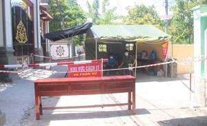 Phong tỏa khu dân cư có cán bộ CDC Quảng Nam mắc Covid-19