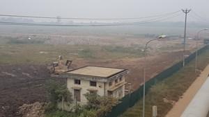 Dự án Trung tâm giao lưu hàng hóa Đông Anh (Hà Nội): Gần 20 năm vẫn bãi đất trống