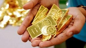 Giá vàng thế giới quay đầu giảm mạnh