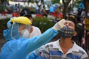 Bắt đầu xét nghiệm 71.424 đại diện hộ gia đình ở tâm dịch Đà Nẵng