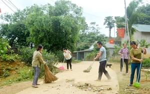 Tuyên Quang: Phụ nữ Hồng Thái chung sức xây dựng nông thôn mới
