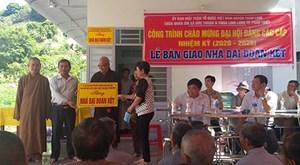 Tánh Linh (Bình Thuận): Bàn giao nhà Đại đoàn kết cho hộ nghèo