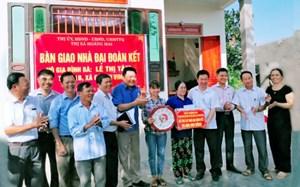 Nghệ An: Hỗ trợ xây dựng mới hơn 1.900 nhà Đại đoàn kết cho người nghèo