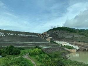 8h ngày 30/9, thủy điện Hòa Bình sẽ mở một cửa xả đáy
