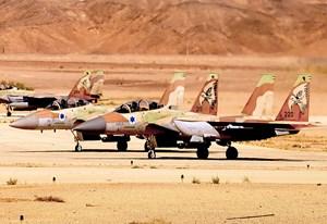 'Đại bàng' trên bầu trời Israel