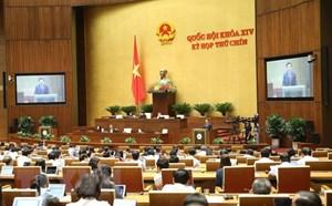 Quốc hội biểu quyết nhiều nội dung quan trọng trong ngày làm việc cuối