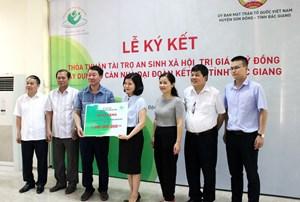 Bắc Giang: Xây dựng 15 nhà Đại đoàn kết cho hộ nghèo