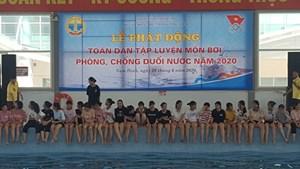 Nam Định: Phát động toàn dân học bơi, chống đuối nước
