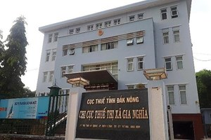 Cán bộ Cục Thuế Đắk Nông bị bắt tạm giam