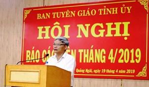 Quảng Ngãi kiện toàn chức danh Bí thư, Chủ tịch trước Đại hội