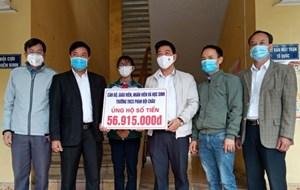 Hải Dương: Kiểm tra công tác vận động ủng hộ phòng, chống dịch Covid-19