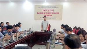 Nam Định: Lo đang thi tốt nghiệp có thí sinh phải thực hiện cách ly