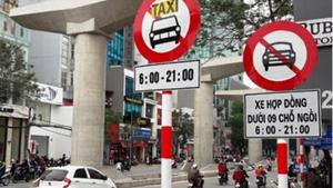 Hà Nội: Cấm taxi lưu thông một chiều trên phố Phủ Doãn