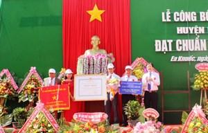 Đắk Lắk: Công bố xã Ea Knuếc đạt chuẩn nông thôn mới