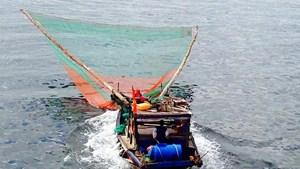Ngư dân gặp khó trong chuyển đổi nghề giã cào