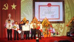 Cam Lộ (Quảng Trị): Đón nhận huyện đạt chuẩn nông thôn mới và Huân chương Lao động hạng Ba