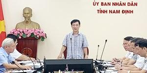 Nam Định: Chủ tịch tỉnh hối thúc giải ngân vốn đầu tư công