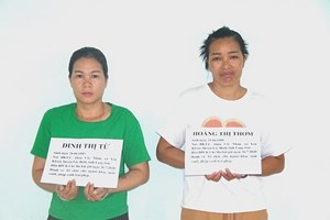 Lạng Sơn: Bắt 2 phụ nữ tổ chức đưa 9 người Trung Quốc nhập cảnh trái phép