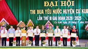 Cư Kuin (Đắk Lắk): Đại hội thi đua yêu nước lần thứ III