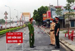 Hà Nam: Phong tỏa khu dân cư có người nhiễm Covid-19