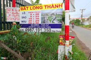 Đất quanh dự án sân bay Long Thành: Lại sốt ảo